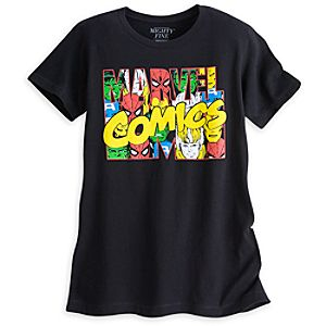 Marvel Comics Logo Tee for Women by Mighty Fine