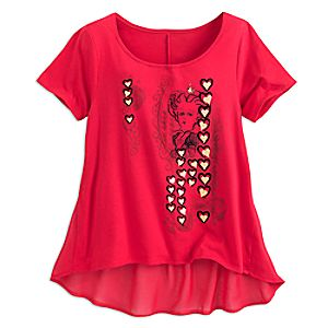 Red Queen Fashion Tee for Women - Alice Through the Looking Glass