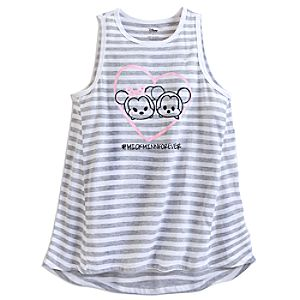 Mickey and Minnie Mouse Tsum Tsum Tank Tee for Women