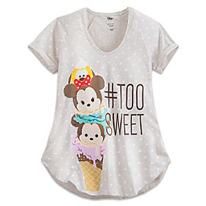 Minnie Mouse and Friends Tsum Tsum Ice Cream Tee for Women