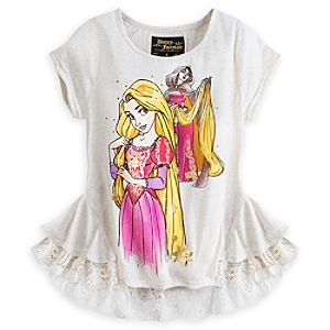 Rapunzel and Mother Gothel Top for Women - Disney Fairytale Designer Collection