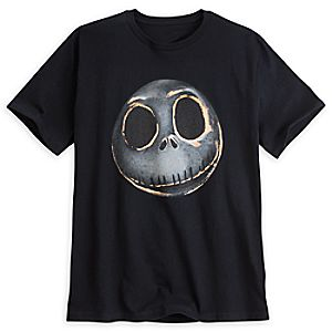 Jack Skellington Metallic Tee for Men