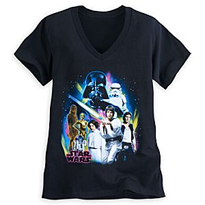 Star Wars Classic Cast Tee for Women