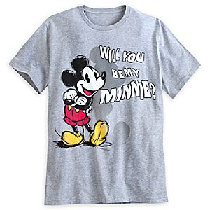 Mickey Mouse My Minnie Tee for Men