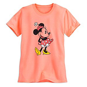 Minnie Mouse Classic Tee for Women - Orange