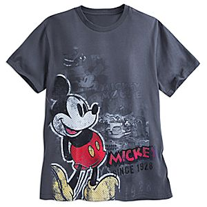Mickey Mouse Pop Art Tee for Men