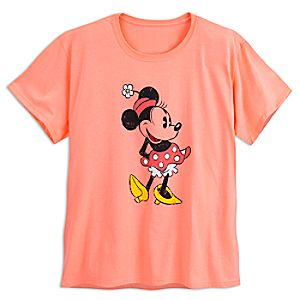 Minnie Mouse Classic Tee for Women - Plus Size - Orange