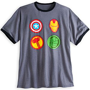 The Avengers Icons Tee for Adults - Plus Size