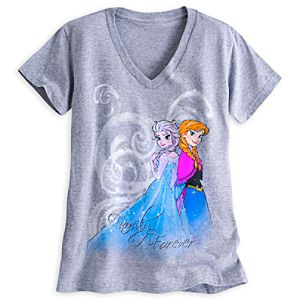 Anna and Elsa Tee for Women