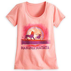 The Lion King Hakuna Matata Tee for Women