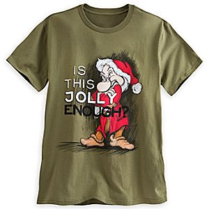 Grumpy Holiday Tee for Men