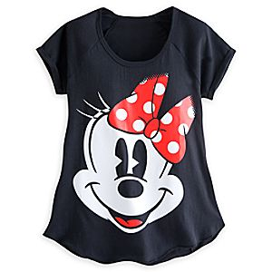 Minnie Mouse Raglan Tee for Women