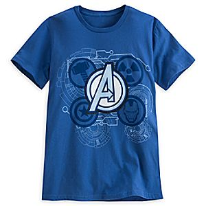Marvels Avengers Icons Tee for Men