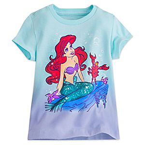 Ariel and Sebastian Tee for Girls