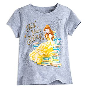 Belle Tee for Girls