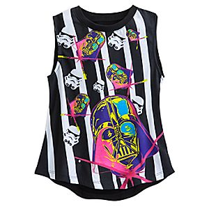 Darth Vader and Stormtroopers Tank Tee for Girls