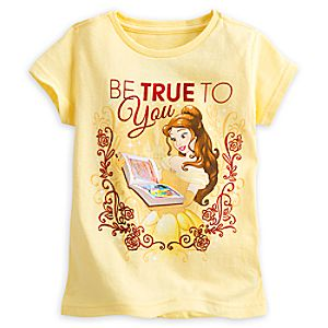 Belle Be True To You'' Tee for Girls