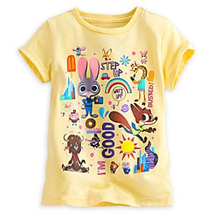 Zootopia Tee for Girls