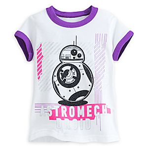 BB-8 Ringer Tee for Girls - Star Wars: The Force Awakens