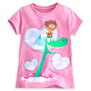 The Good Dinosaur Hearts Tee for Girls