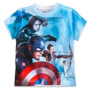 Marvels Captain America: Civil War Two-Sided Tee for Boys