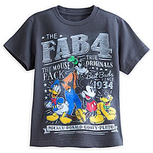 Mickey Mouse and Friends Tee for Boys - The Mouse Pack