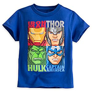 Marvels Avengers Tee for Boys