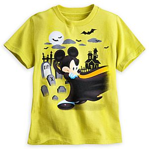 Mickey Mouse Halloween Tee for Kids