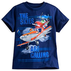 Planes Tee for Boys