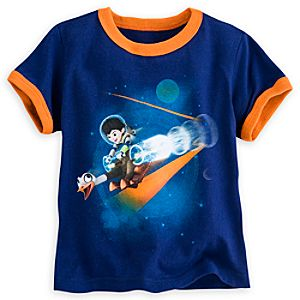 Miles from Tomorrowland Ringer Tee for Boys
