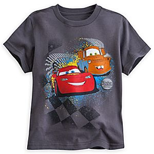 Lightning McQueen and Mater Tee for Boys