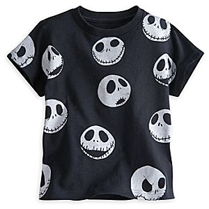 Jack Skellington Expressions Tee for Boys