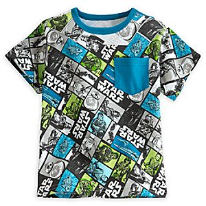 Star Wars:The Force Awakens Fashion Tee for Boys