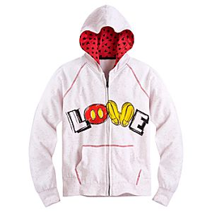 Best of Mickey Mouse ''Love'' Hoodie for Women