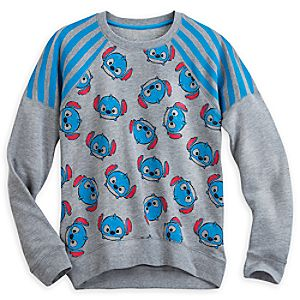Stitch Tsum Tsum Long Sleeve Pullover for Women