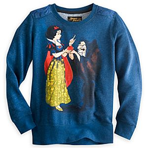 Snow White and Hag Pullover Top for Women - Disney Fairytale Designer Collection