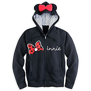 Minnie Mouse Zip Hoodie for Women