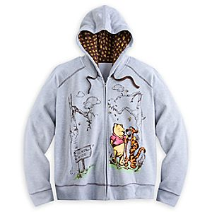 Winnie the Pooh and Friends Hoodie for Women - Plus Size