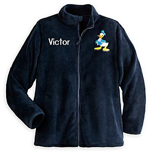 Donald Duck Fleece Jacket for Men - Personalizable