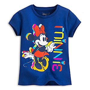 Minnie Mouse Summer Fun Tee for Girls