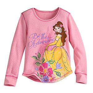 Belle Long Sleeve Thermal Tee for Girls