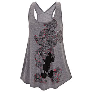 LOVE Mickey Mouse Tank Tee for Women