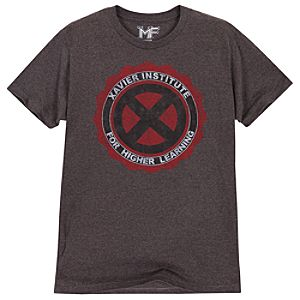 X-Men Xavier Institute Tee for Men by Mighty Fine