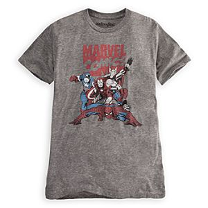 Classic Marvel Comics Tee for Men