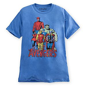 Classic The Avengers Tee for Men