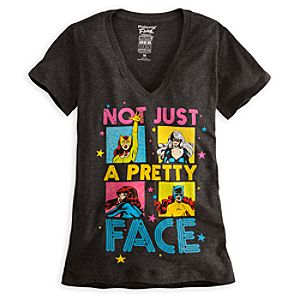 Marvel Heroines Tee for Women by Mighty Fine