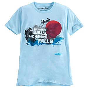 The Bigger the Balls, the Harder the Falls Wipeout Tee for Men by Mighty Fine