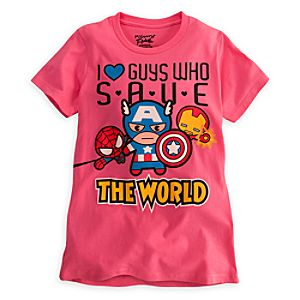 Marvel Minis Tee for Women by Mighty Fine