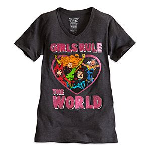 Marvel Comics Heroines Tee for Women by Mighty Fine