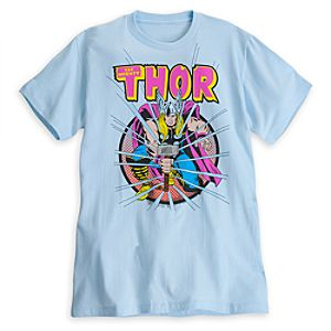 The Mighty Thor Tee for Men by Mighty Fine